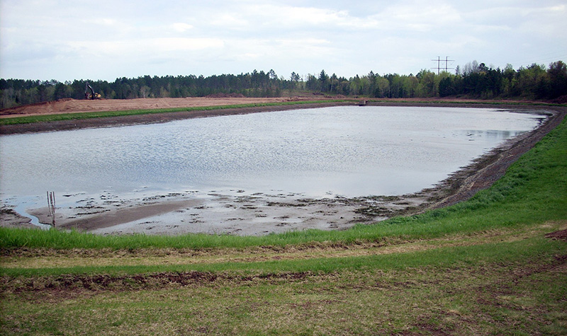 Solon springs wastewater general civil municipal for Design of stabilisation pond