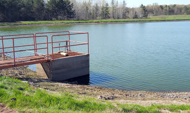Solon springs wastewater general civil municipal for Design of waste stabilization pond systems