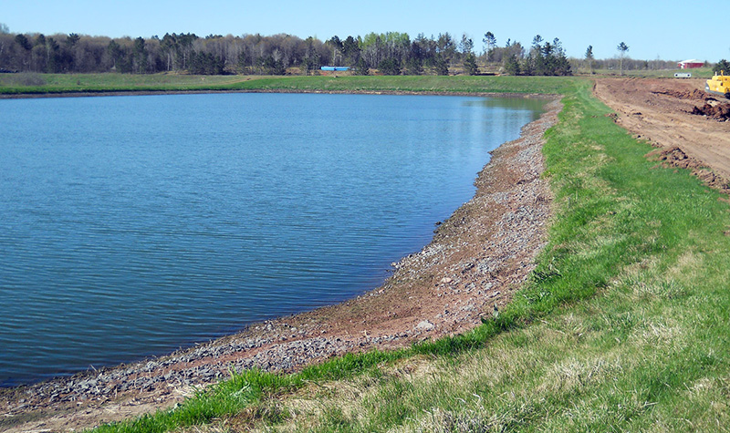Solon springs wastewater general civil municipal for Design of stabilization pond