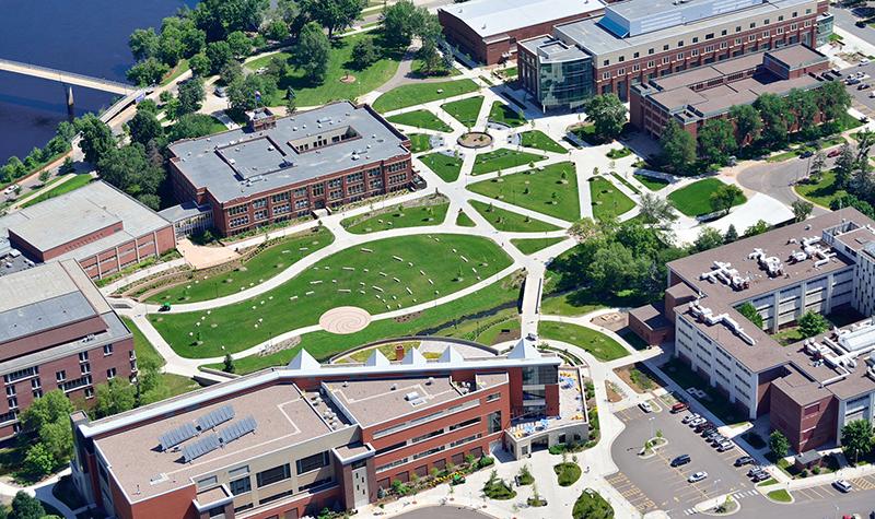 University Of Eau Claire >> Uw Eau Claire Central Campus General Civil Municipal Engineering