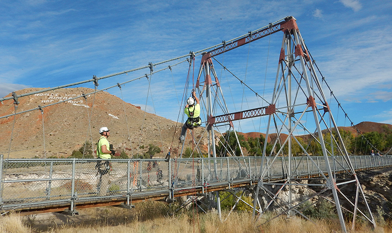 Wyoming State Parks Bridge Inspections - Structural