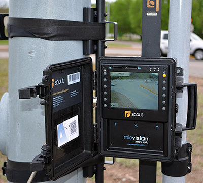 MioVision Camera Mount at STH 312 and Riverview Drive Eau-Claire WI