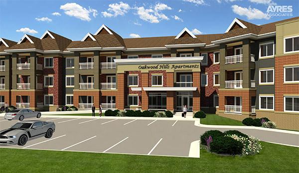 Revit model of apartments