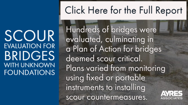 Link to Whitepaper Scour Evaluation for Bridges with Unknown Foundations