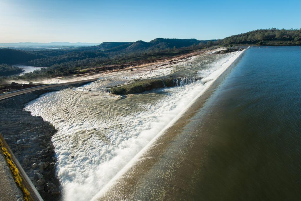 High hazard dam