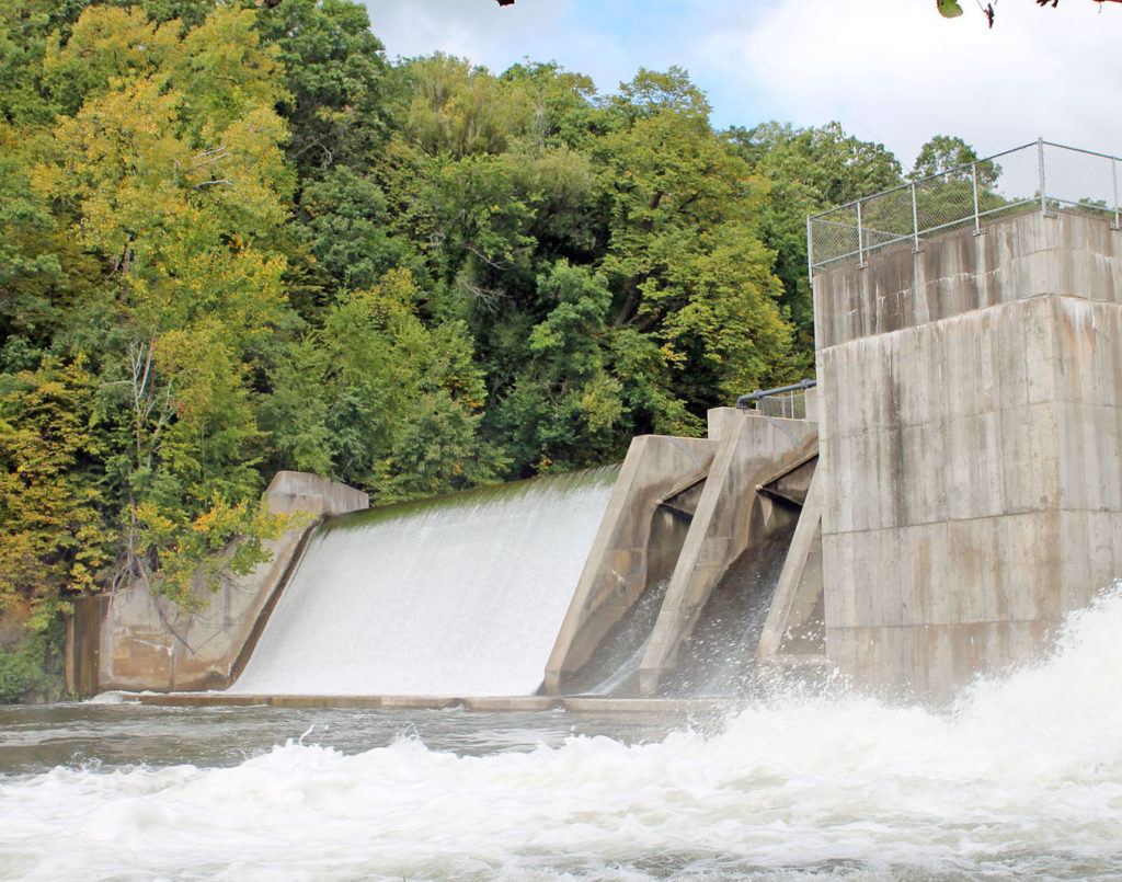 how to make a dam hold water
