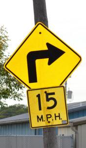 Advisory speeds