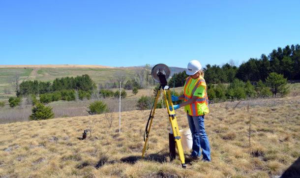Landfill groundwater monitoring