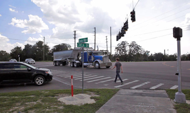 Shady Hills Crosswalk and Curb Ramp