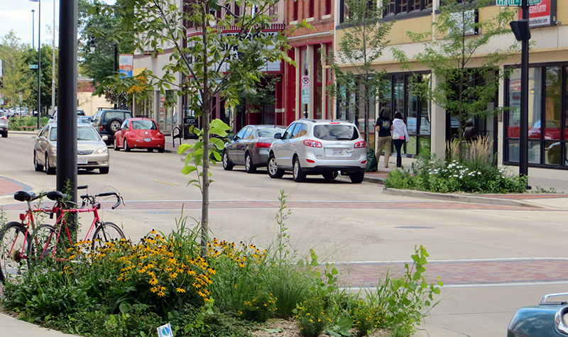 Example of a downtown main street.