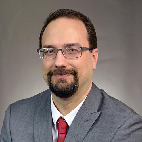 Staff portrait of Mark Petersen