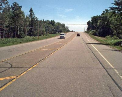 State highway 17 in Rhinelander Wisconsin