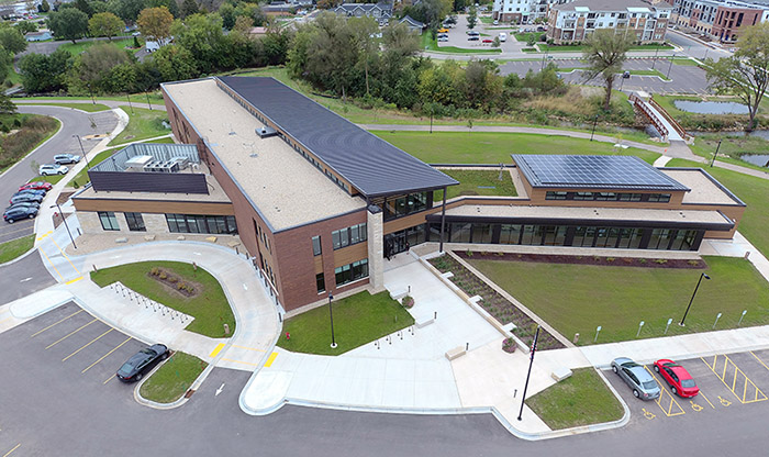 Partially through EPA funding, Ayres helped the Village of Waunakee, Wisconsin, turn a contaminated Alloy Casting site into its new library campus.