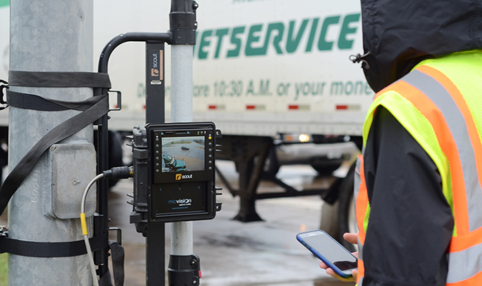 Wisconsin Department of Transportation traffic video data collection using MioVision Scout.