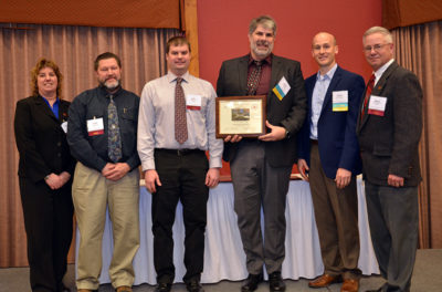 Award recipients for the Wisconsin Department of Transportation Excellence Award.