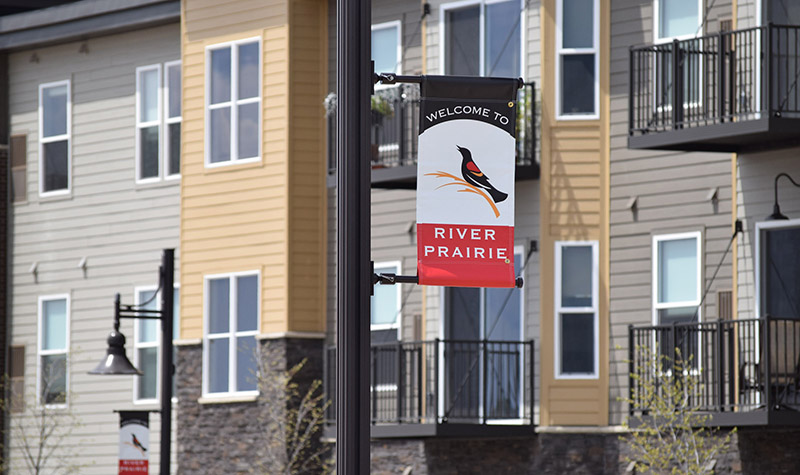River Prairie Development Signage