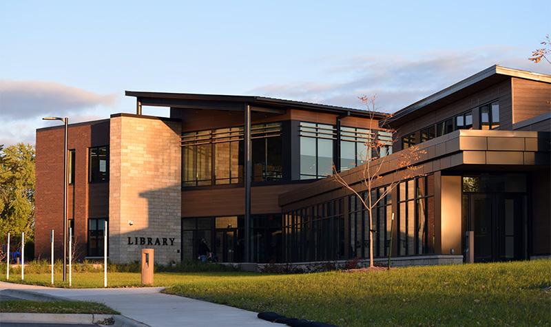 Waunakee public library alternate angle.